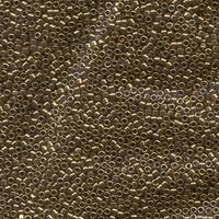Image Seed Beads Miyuki delica size 11 metallic light bronze metallic