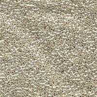Image Seed Beads Miyuki delica size 11 galvanized silver galvanized