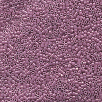 Seed Beads Miyuki delica size 11 dark orchid opaque luster