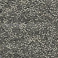 Image Seed Beads Miyuki delica size 11 nickel plated metallic matte