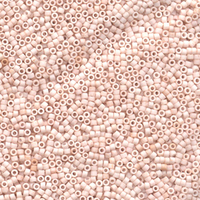Image Seed Beads Miyuki delica size 11 pale rose opaque matte