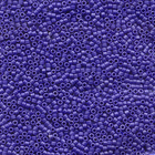 Seed Beads Miyuki delica size 11 cobalt blue matte opaque luster