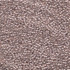 Seed Beads Miyuki delica size 11 blushed steel galvanized