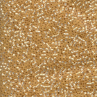 Seed Beads Miyuki delica size 11 butterscotch silver lined matte