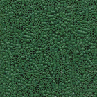 Seed Beads Miyuki delica size 11 jade green (dyed) opaque