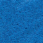 Seed Beads Miyuki delica size 11 capri blue (dyed) opaque