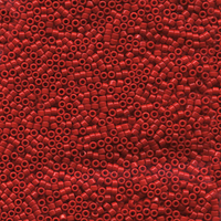 Seed Beads Miyuki delica size 11 red opaque