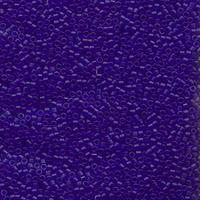 Image Seed Beads Miyuki delica size 11 cobalt blue transparent matte