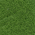 Seed Beads Miyuki delica size 11 pea green opaque matte
