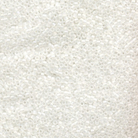 Image Seed Beads Miyuki delica size 11 crystal ab transparent iridescent matte
