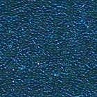 Seed Beads Miyuki delica size 11 dark blue- light blue ab opaque iridescent