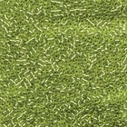 Seed Beads Miyuki delica size 11 crisp green apple silver lined