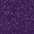 Seed Beads Miyuki delica size 11 purple transparent