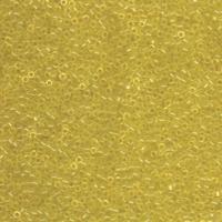 Image Seed Beads Miyuki delica size 11 pale yellow transparent