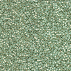 Seed Beads Miyuki delica size 11 light spring green opaque alabaster