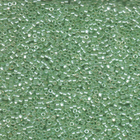 Seed Beads Miyuki delica size 11 cool cucumber transparent luster