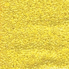 Seed Beads Miyuki delica size 11 canary yellow ab opaque iridescent