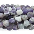 Dog Teeth Amethyst 8 x 10mm tumbled nugget purple