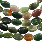 Fancy Jasper 10 x 14mm oval mixed colors