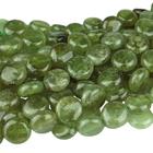 Green Garnet 12mm coin green