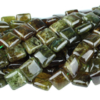 Green Garnet 12mm square green