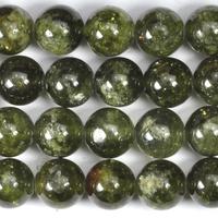 Green Garnet 8mm round green
