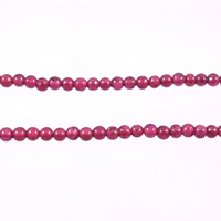 Garnet 2mm round wine red