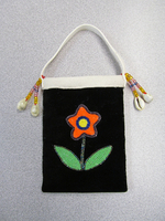 Old Style Floral Miniature Trade Bag