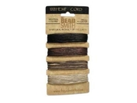 .55mm (10 lb. test) 4 neutral colors Hemp Twine