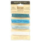 .55mm (10 lb. test) Aqua shades Hemp Twine