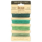 .55mm (10 lb. test) Emerald shades Hemp Twine