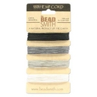 .55mm (10 lb. test) Onyx shades Hemp Twine
