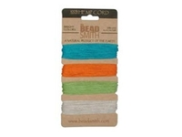 Image 1mm (20 lb. test) 4 bright colors Hemp Twine