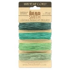 1mm (20 lb. test) Emerald shades Hemp Twine