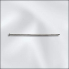 base metal 1.5 inch .021 thin headpin silver finish
