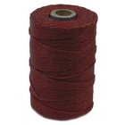 4 ply country red Irish Waxed Linen