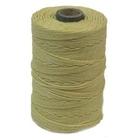 4 ply yellow Irish Waxed Linen
