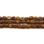 Iron Zebra Jasper 8 x 10mm nugget shades of brown