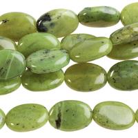 Image Jade 10 x 14mm oval deep green