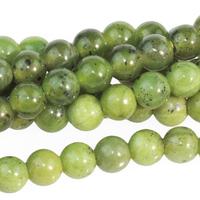 Image Jade 6mm round deep green