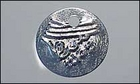 Image Metal Coins 15mm embossed coin silver