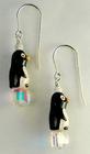 Penguins at Play Earrings