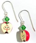 Crispy Apple Earrings