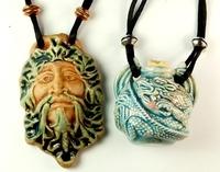 Peruvian Bottle Necklace