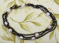 Punky Pearl Bracelet