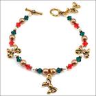 Christmas Past Charm Bracelet