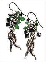 Walking Dead Zombie Earrings