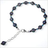 Midnight Sky Dichroic Bracelet
