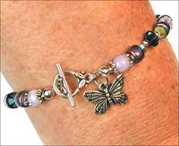 Dreamy Butterfly Charm Bracelet