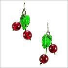Freshly Picked Cherry Earrings